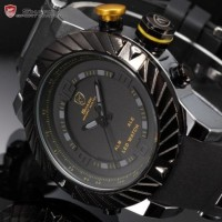 Goblin Shark 2nd Big Case Digital LED Silicone Men Quartz Sport Watch