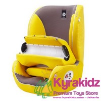 KYRAKIDZ KIDDY Germany Beetle Group-1 Car Seat Booster - Yellow