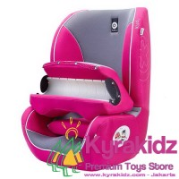 KYRAKIDZ KIDDY Germany Beetle Group-1 Car Seat Booster - Pink