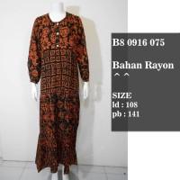 daster batik B8 0916 075 / baju tidur murah/longdres batik terbaru
