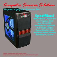 [Baru]Komputer/PC Rakitan Core Dual Core + VGA + Monitor Siap Pakai