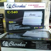 Power Amplifier 4 Channel Cherokee seri C-540 8000 Watt