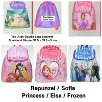Tas Ultah Elsa Frozen Sofia Rapunzel Goodie Bags Princess Souvenir