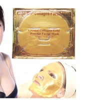 Masker Wajah Crystal Collagen GOLD / Powder Facial Mask / Bio Face