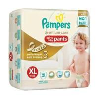 harga Pampers Premium Care Pants XL 21 (size xl,21pcs) Tokopedia.com
