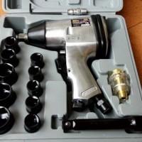 "Air impact wrench kit Mollar 1/2"" / mesin buka baut kompresor"