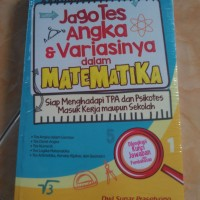 Buku Jago Tes Angka & Variasinya dalam Matematika (Dwi Sunar P.)