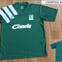 JERSEY RETRO LIVERPOOL AWAY CANDY