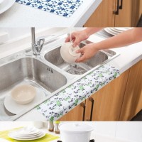 AR026 Stiker Kain Penyerap Air Alas Wastafel Kloset Basin Kitchen Sink