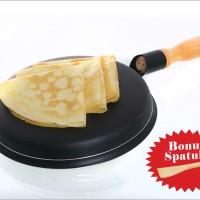 Jual Vicenza Crepe Maker Wajan teflon penggorengan telur Dadar serbaguna Murah