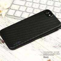 Casing X-Level Carbon HP iPhone 7 Plus Casing Hard Silikon Soft Case