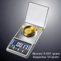 Timbangan Emas Berlian Obat Akurasi 0.001 gram Kapasitas 50 gram