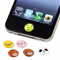 Apple Home Button Cute Stickers For Iphone / Ipod / Ipad | Homeb