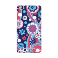 Casing Hp Custom Floral Pattern Xiaomi Mi 4i/4c Case
