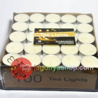 harga Lilin Tealight Candle / Tea-Light Cup Alumunium isi 100pcs Tokopedia.com