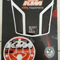 stiker KTM Duke (tutup bensin + tankpad)