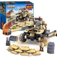 BLOCKS COGO ARMY 236PC - 3328