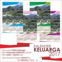 kalender keluarga/toko