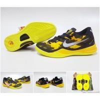 SEPATU BASKET Kobe 8 Sulfur Yellow Black (Premium Import)