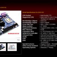 VARRO Mainboard Motherboard Intel LGA775 775 G41 G 41 DDR3 Core 2 Duo
