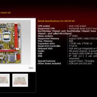 VARRO Mainboard Motherboard Intel LGA1155 1155 H61 DDR3 Core i3 i5 i7