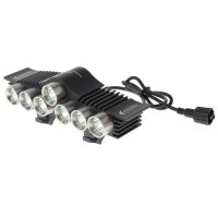TrustFire LED Bicycle Light 7x Cree XM-L2 3200 Lumens - TR-D013 - Blac