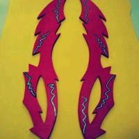 pedang halilintar bobooboy sepasang