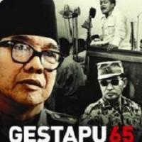 GESTAPU 65: PKI, AIDIT, SUKARNO, & SOEHARTO Salim Said Murah