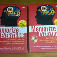 Memorize Everything ( Mr. Super Great Memory ) Limited