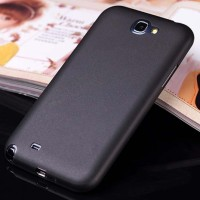 SAMSUNG Galaxy Note 2 - Slim Matte Hard Case 0.3mm BLACK