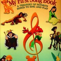 (NEW) Buku Musik- Buku piano lagu disney -My first song book DISNEY'S