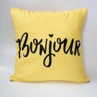 Jual Sarung bantal sofa / Cushion cover - Bonjour Murah