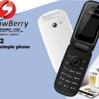 harga Hp/handphone Strawberry S1272 Flip Model Samsung ( Vibrat Ready ) Tokopedia.com