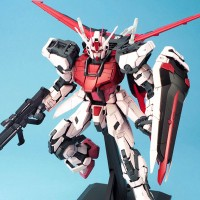 1/60 PG MBF-02+AQM/E-X01 Aile Strike Rouge + FX-550 Skygrasper