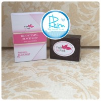 [ SOAP / SABUN ] WHITENING BLACK SOAP FAIR PINK ORIGINAL