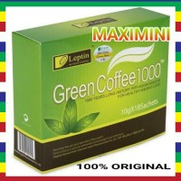 Jual GREEN COFFEE 1000 ORIGINAL | LEPTIN GREEN COFFEE | KOPI DIET Murah