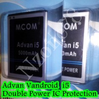 Baterai Advan Vandroid I5 Double Power Protection Garansi 1 Tahun VEKC