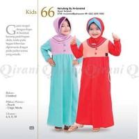 Baju Muslim Anak Gamis Murah QIRANI KIDS QK-66