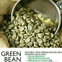 Jual KOPI HIJAU PELANGSING (BIJI)/GREEN COFFE ASLI Murah
