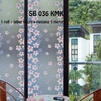 harga SUNBLAST / STIKER KACA / GLASS STICKER SB 036 (L 45CM X Panjang 5M) Tokopedia.com