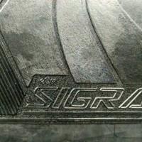 Karpet Lantai Mobil Daihatsu SIGRA 1 Set/5 Lembar (Full Set DTBB)