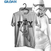 Vader and Trooper Series - Sexy Trooper Kaos Movie Gildan
