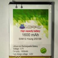 Hippo Baterai Samsung Galaxy Young 2 / G130 1600mah
