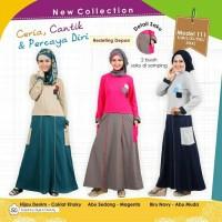 Gamis mutif model 111/baju muslim/baju gamis