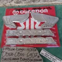 harga Emblem Tangki Honda Cb100-cb125-s90z (warna Perak) Tokopedia.com