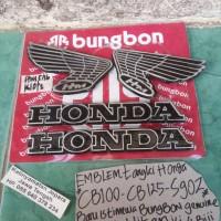 harga Emblem Tangki Honda Cb100-cb125-s90z(warna Hitam) Tokopedia.com