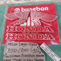 harga Emblem Tangki Honda Cb100-cb125-s90z (warna Merah) Tokopedia.com