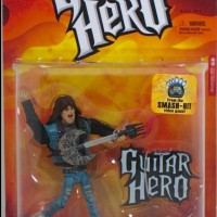 AXEL STEEL GUITAR HEROES MCFARLANE!! Figure Music