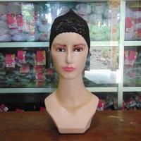 harga Bandana Brukat/Brokat Dalaman/Inner Jilbab/Kerudung/Hijab Ciput Renda Tokopedia.com