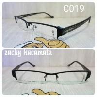 kacamata frem coach C019 hitam